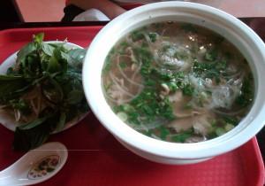 Bowl of Pho from Saigon Pho