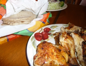 Chicken and Tortillas